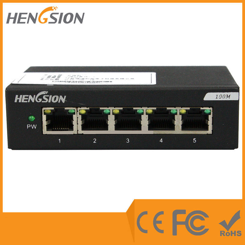 1.6Gbps Enterprise Network Switch 5 megabit Port 5 fast ethernet port